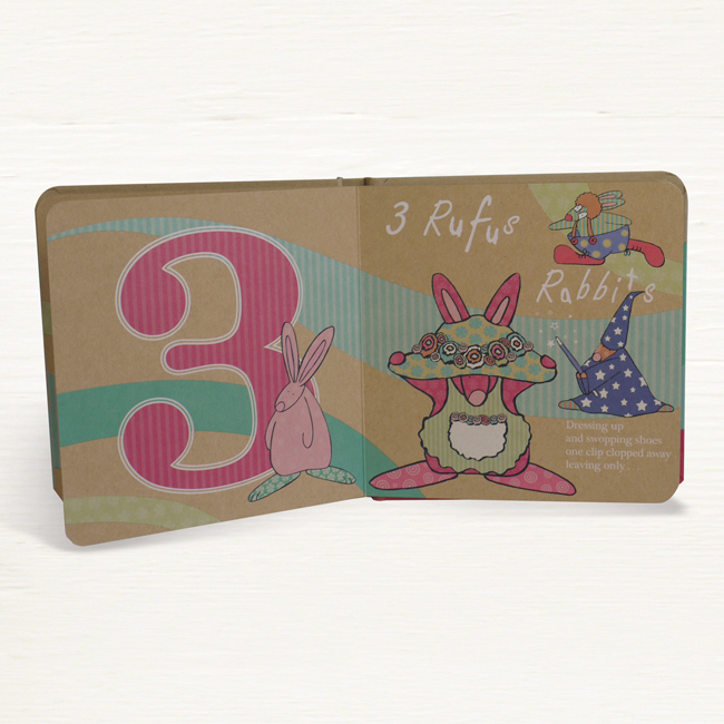 Big Five Countdown Board Book By Rufus Rabbit A Lovely
