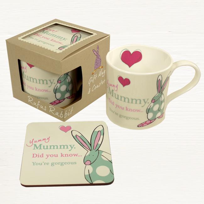 A Yummy Mummy Mug & Coaster Set